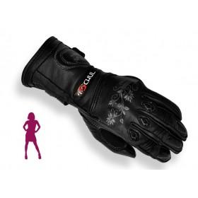 Tschul 301 dámske kožené rukavice čierne
