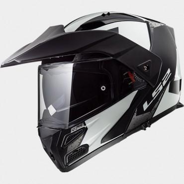 Prilba LS2 FF324 METRO EVO SUB white black