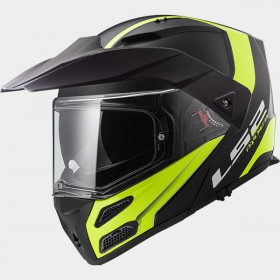 Prilba LS2 FF324 METRO EVO Rapid black-yellow