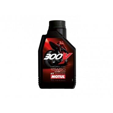 MOTUL 300V FACTORY LINE ROAD RACING 15W50 1L