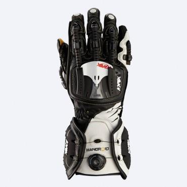 Rukavice KNOX Handroid black-white