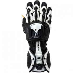 Rukavice KNOX HANDROID FULL CE black white